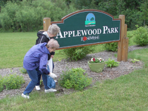 Adopt-a-park volunteers